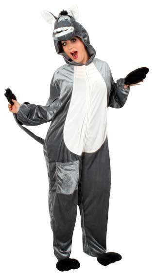 Ezequile De Ezel Overall Pluche Kostuum