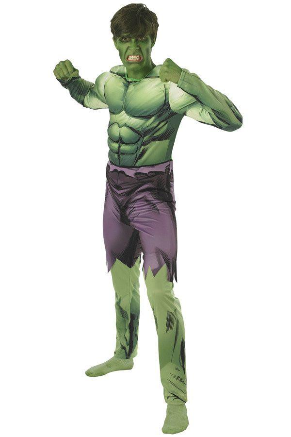 Opgefokte Spierbundel Hulk Man Kostuum