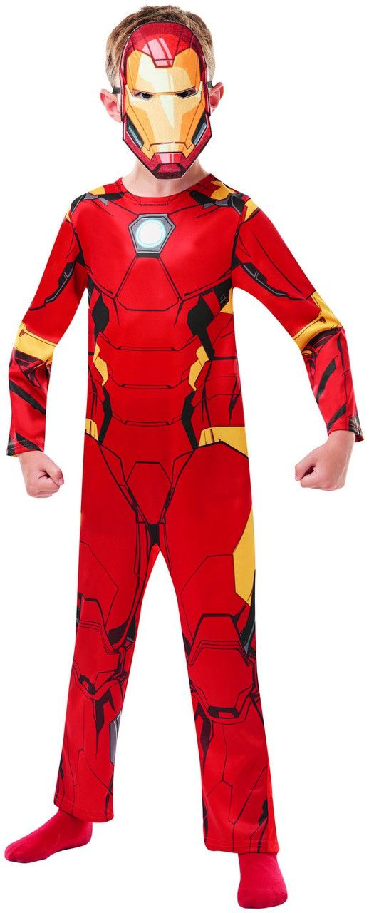 Iron Man Avengers Assemble Kind Kostuum