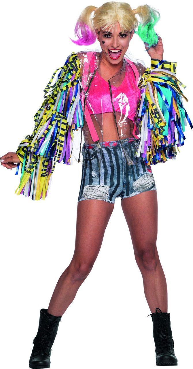 Weg Van Het Nest Harley Quinn Birds Of Prey Deluxe Vrouw Kostuum