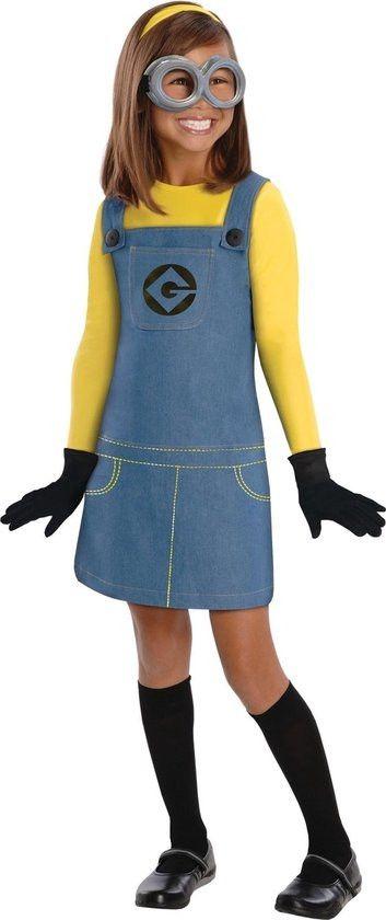 Snoezig Minion Meisje Kostuum