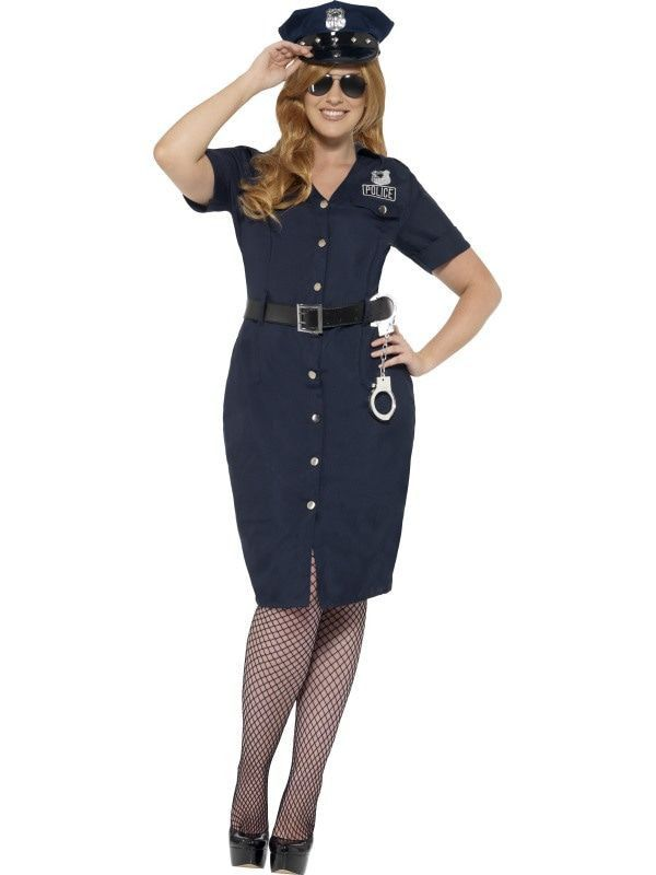 Nypd Blue Agent Vrouw Kostuum