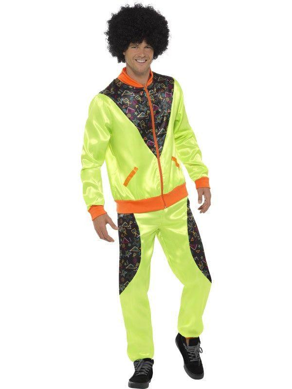 Lekker Fluorescerende Fout Trainingspak Man Kostuum
