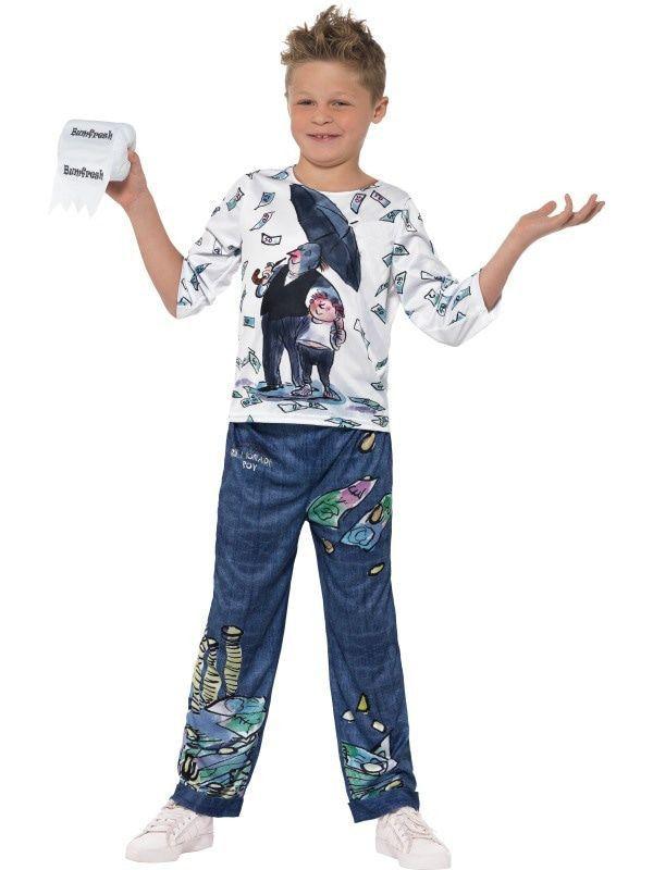 David Walliams Billionaire Boy Joe Biljoen Jongen Kostuum
