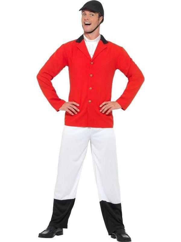Ruiter Vossenjacht Man Kostuum