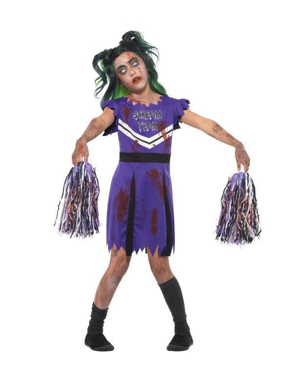Zombie Cheerleader Na Mislukte Show Meisje Kostuum