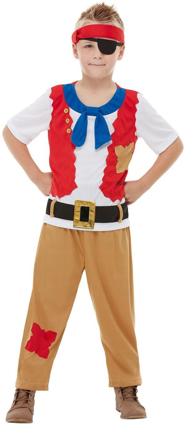 Horrible Histories Waanzinnig Om Te Weten Piraat Jongen Kostuum