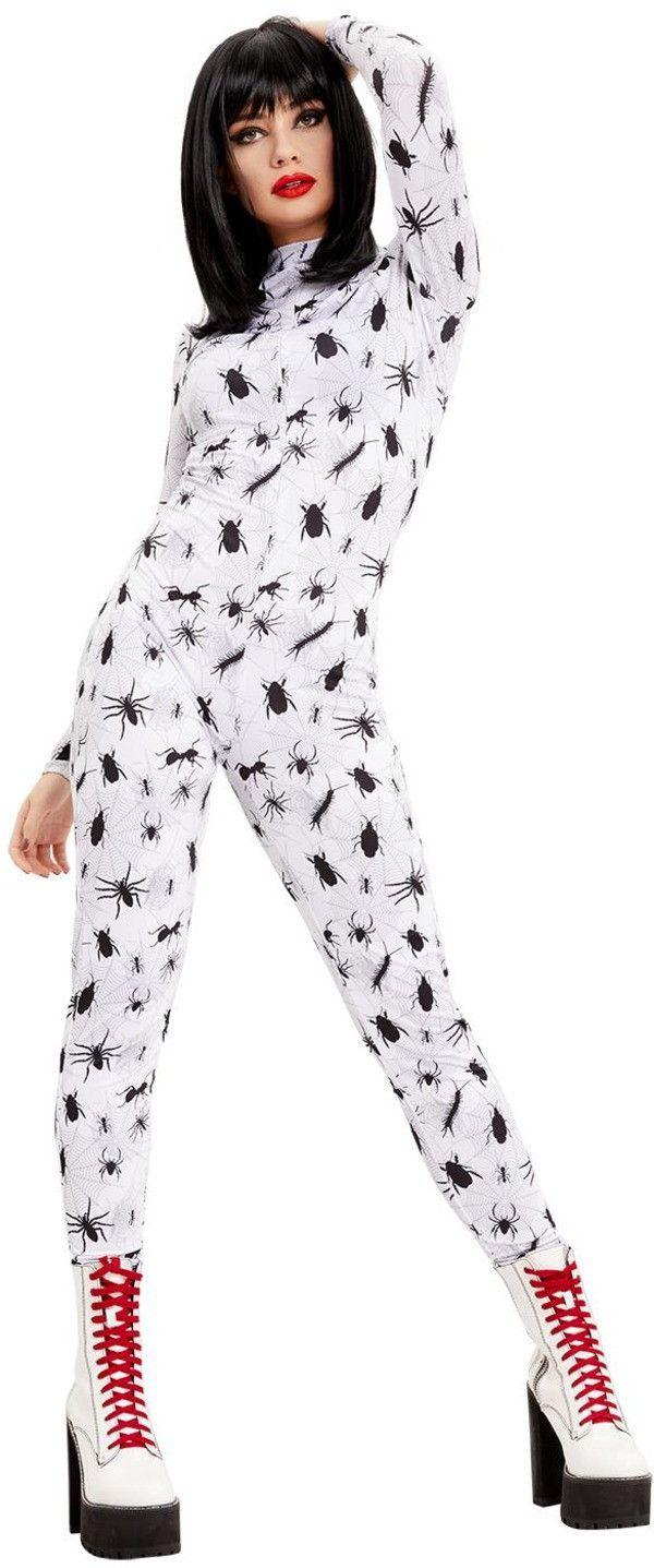 Catsuit Vol Spinnen, Mieren En Ander Ongedierte Vrouw Kostuum