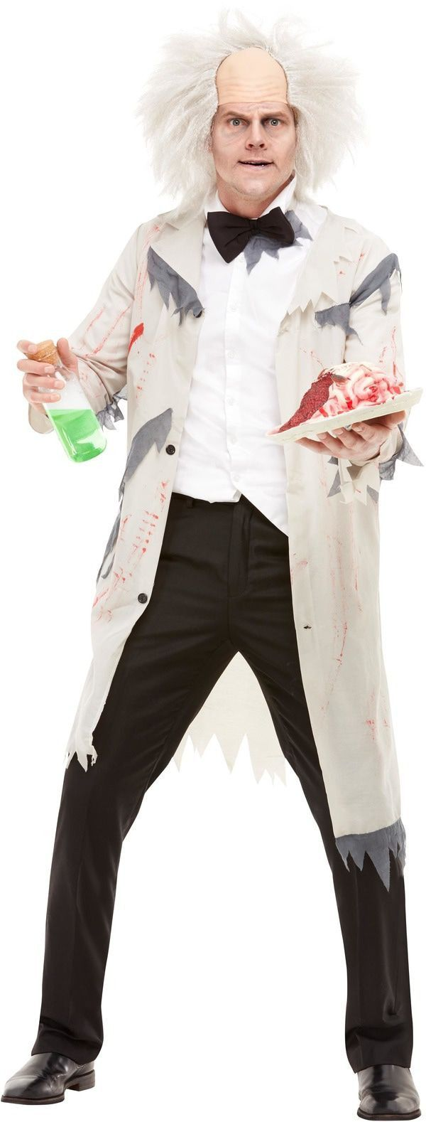 Knotsgekke Professor Laboratorium Man Kostuum