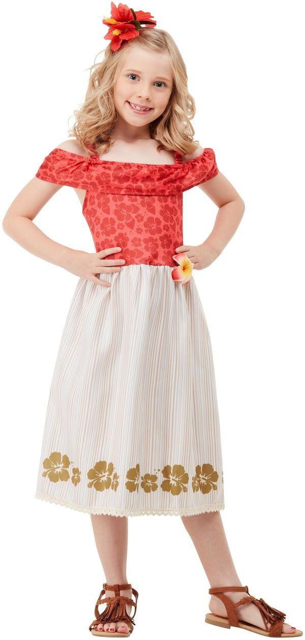 Tropisch Feest Oahu Hawaii Meisje Kostuum