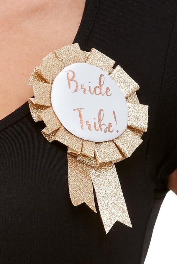 Bride Tribe Broche Huwelijk