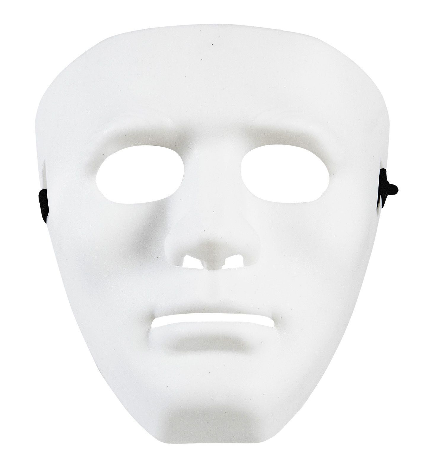 Classic Creep Masker Anonym Wit