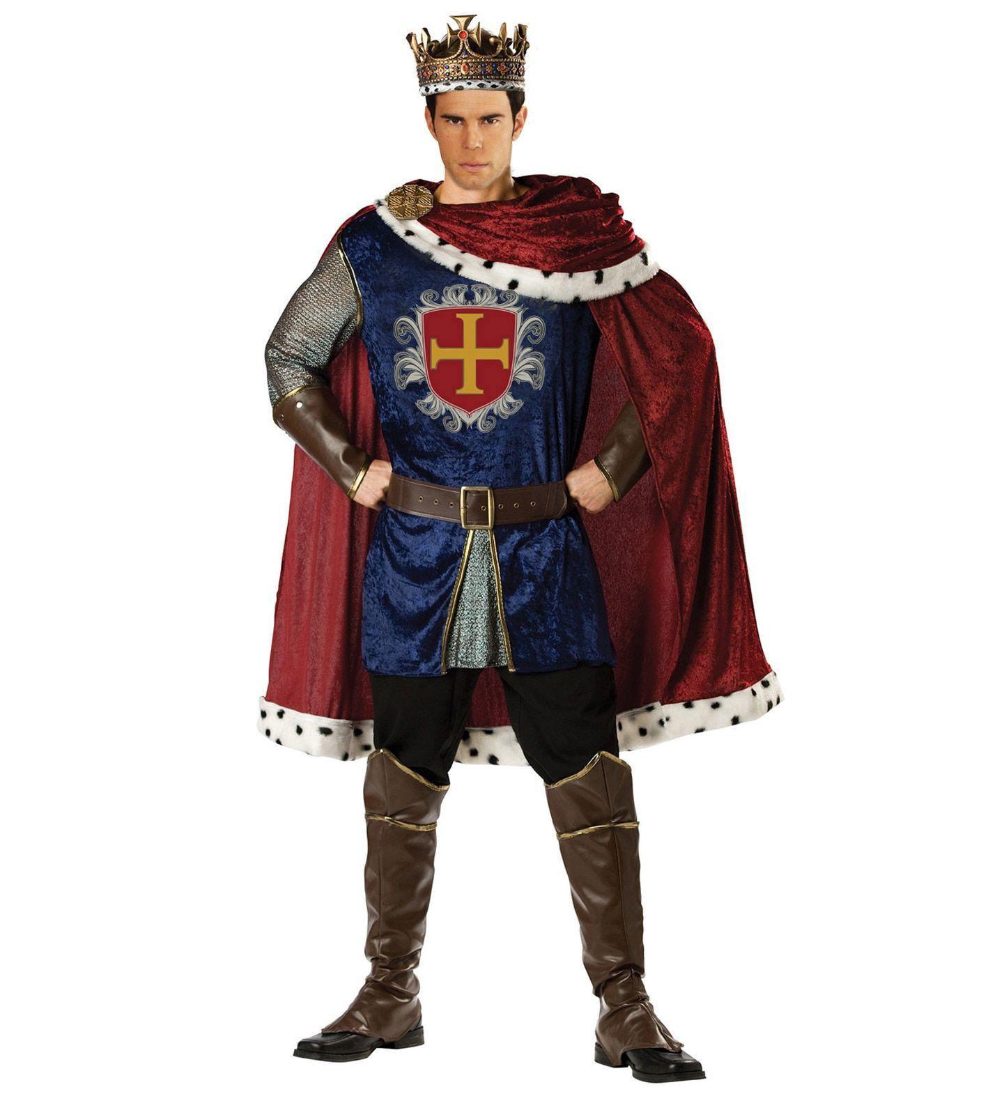 Koning Maccallan Man Kostuum