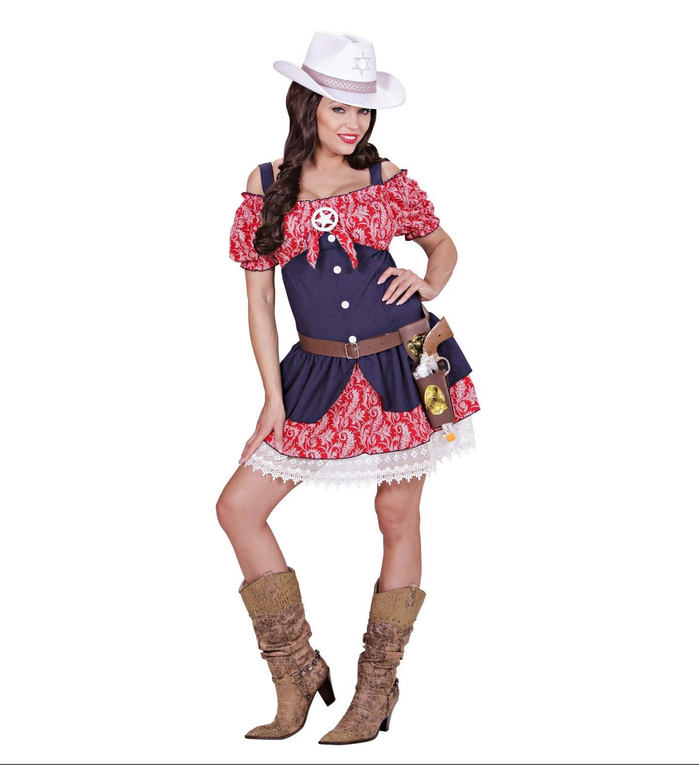 Linedancing Cowgirl Vrouw Kostuum