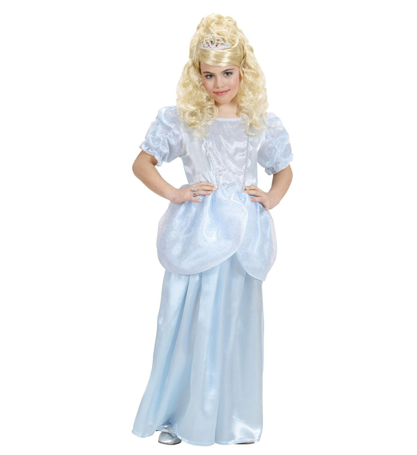 Prinses Lichtblauw Miss Lorelei Kostuum Meisje