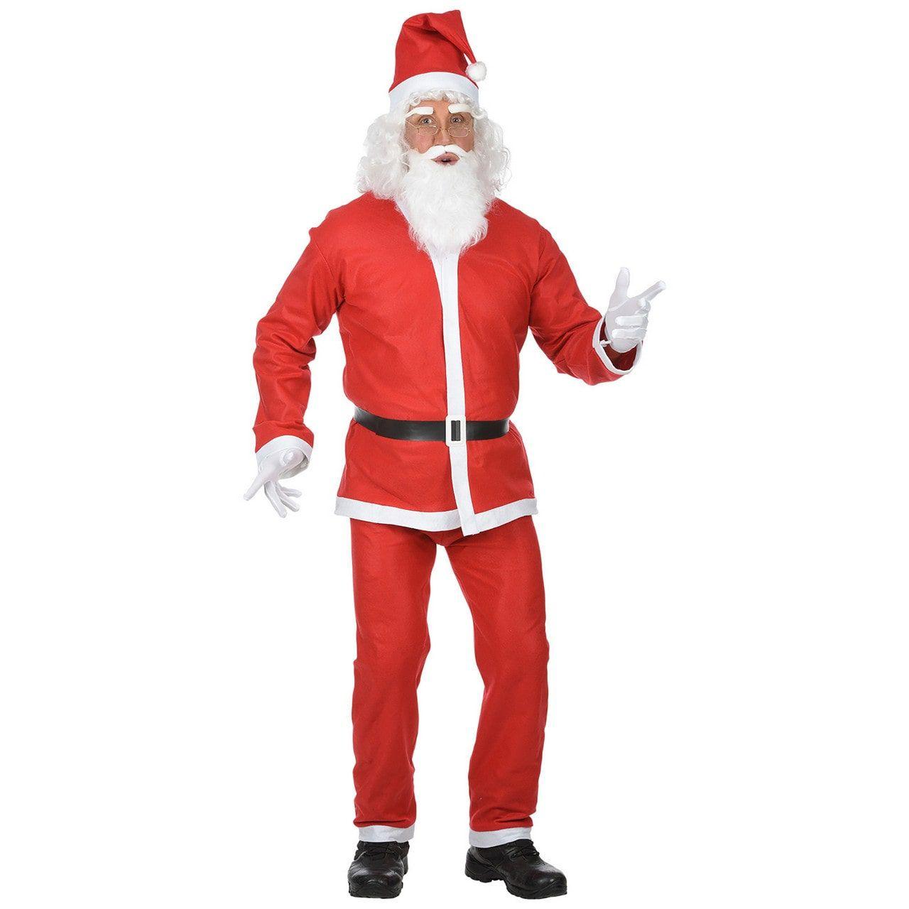 Kerstman Santa Kostuum