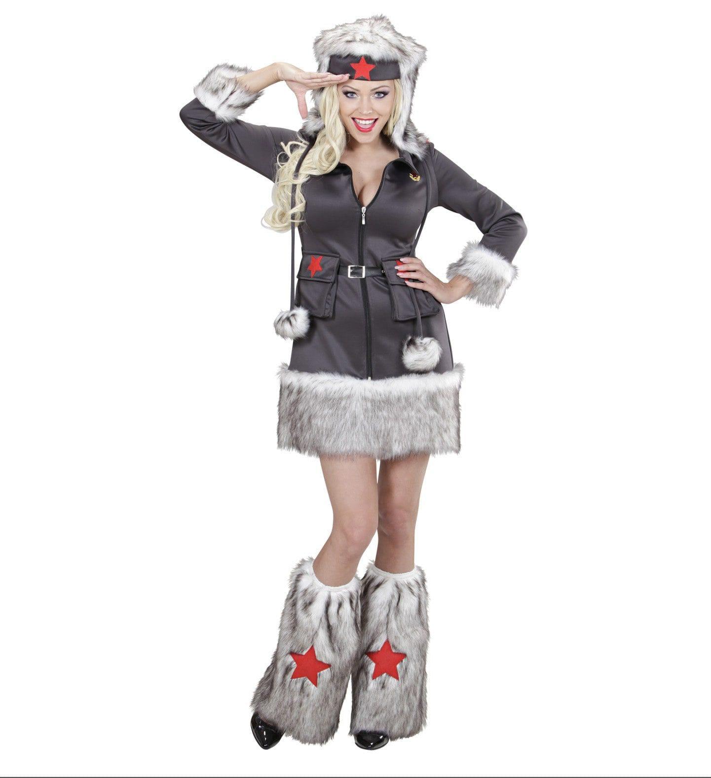 Nikita Sexy Comrade Vrouw Kostuum