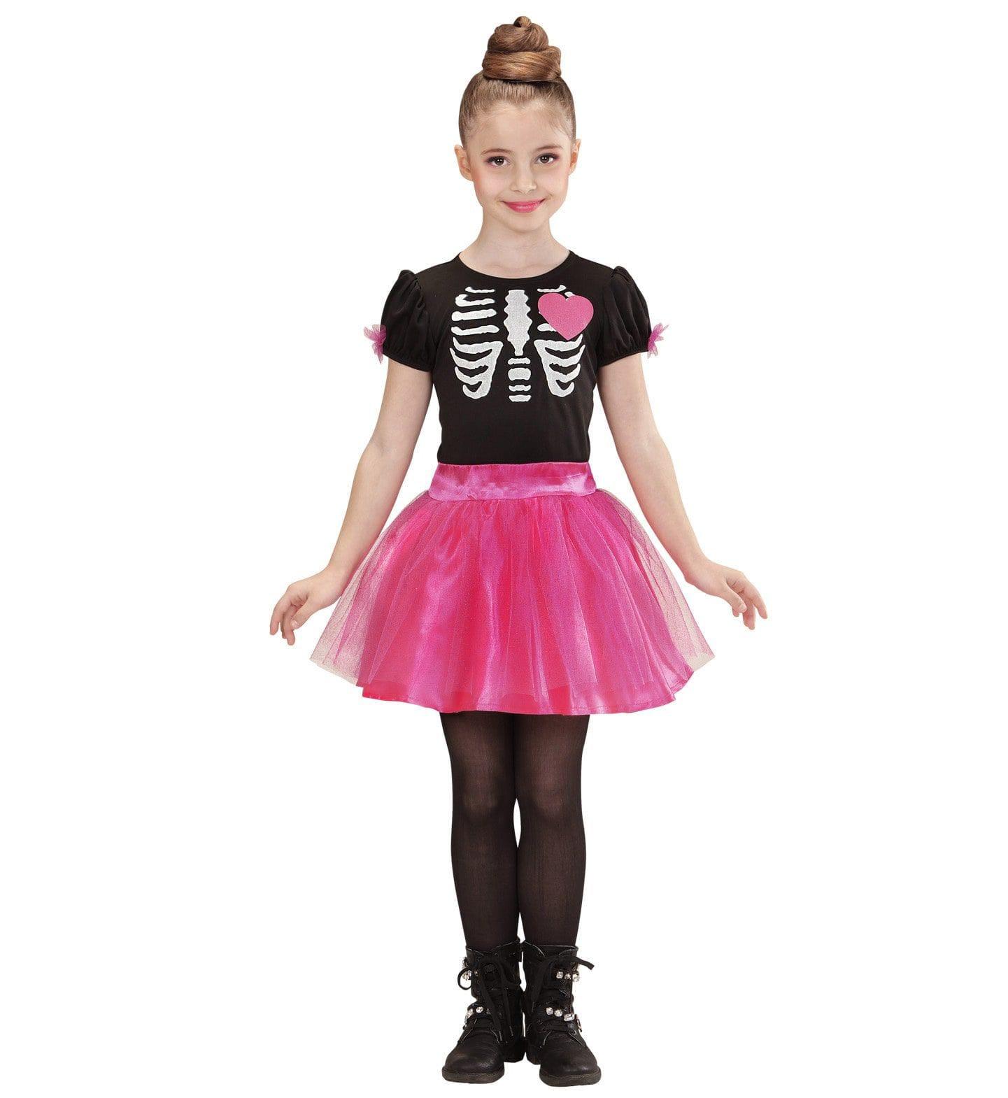 Sweet Horror Ballerina Skelet Meisje Kostuum