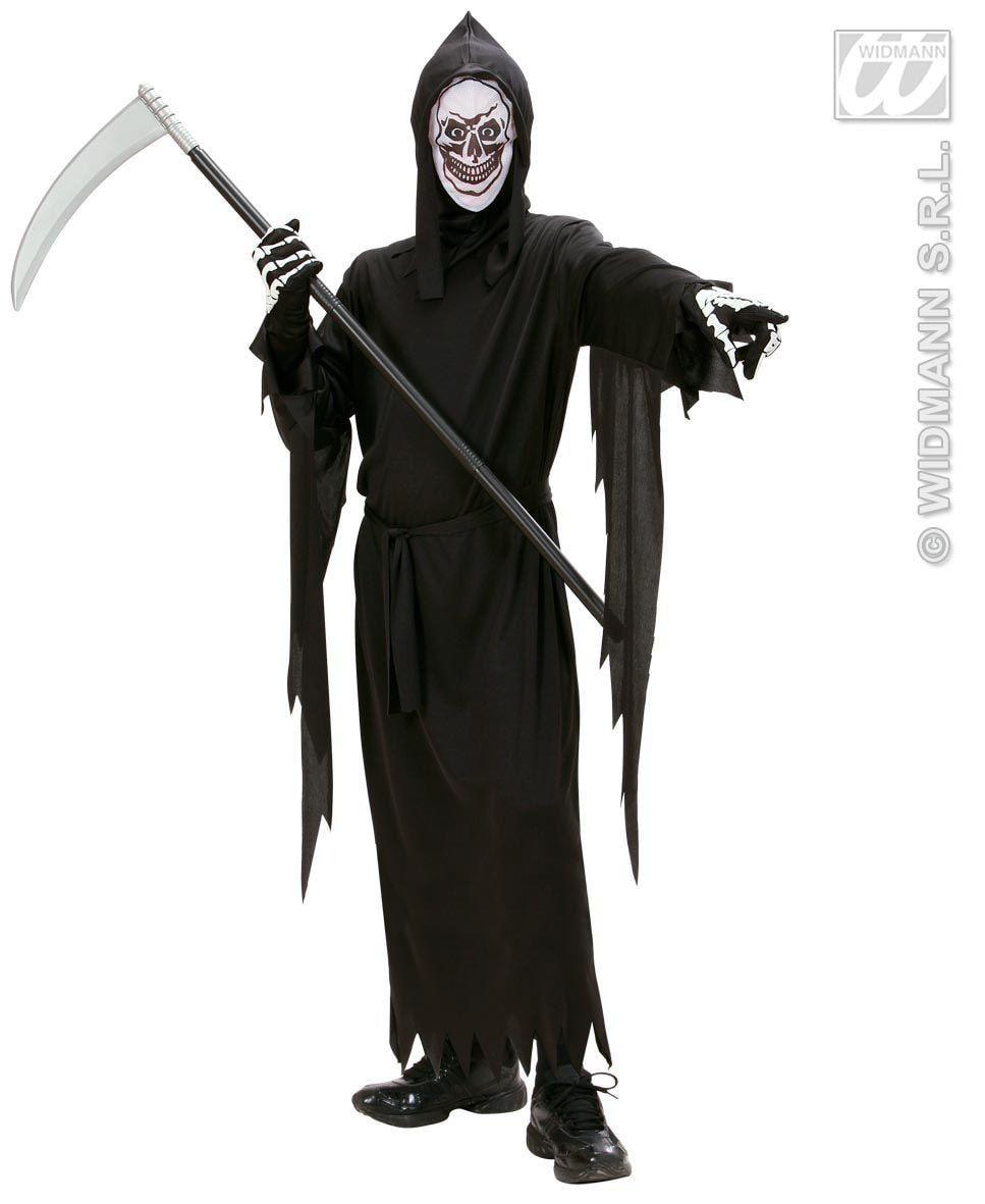 Grim Reaper Vader Tijd Kind Kostuum Jongen