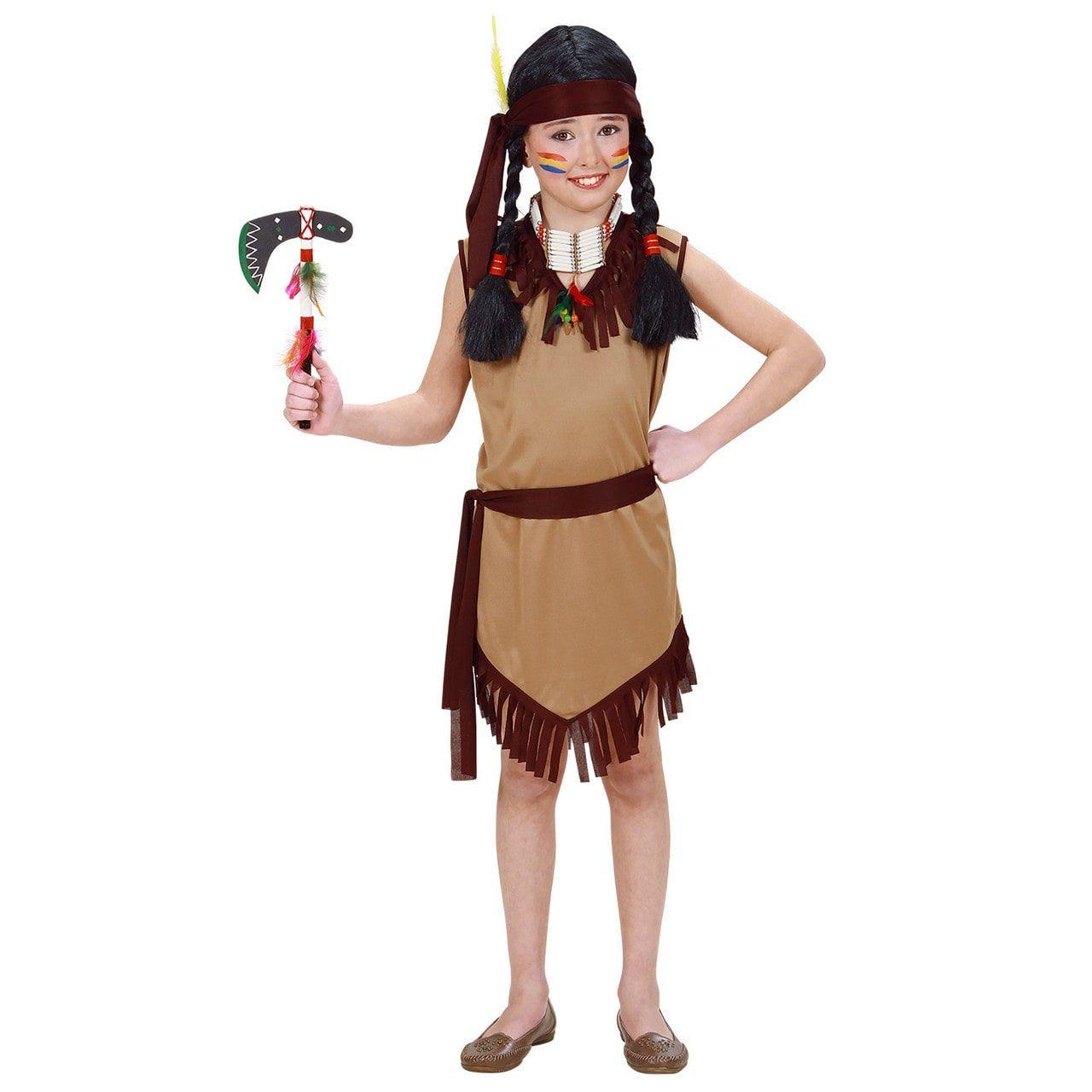 Hiawatah Indiaan Meisje Kostuum
