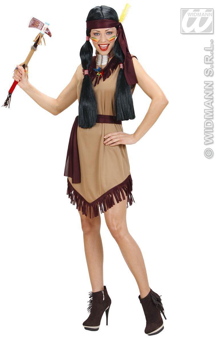 Hiawatah Indiaan Vrouw Kostuum