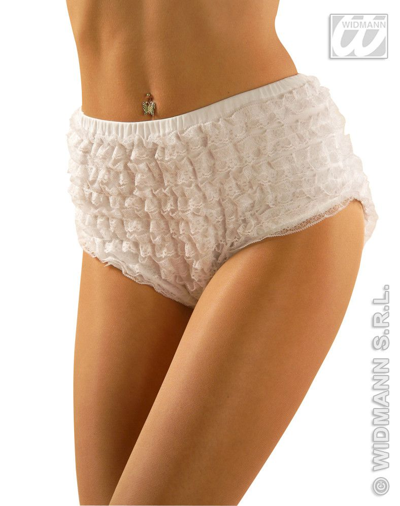Witte Kanten Panty