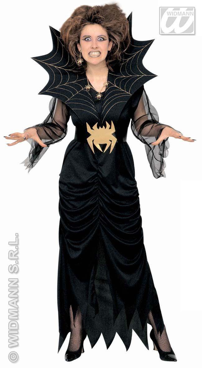 Spider Lady Miss Horror Kostuum Vrouw