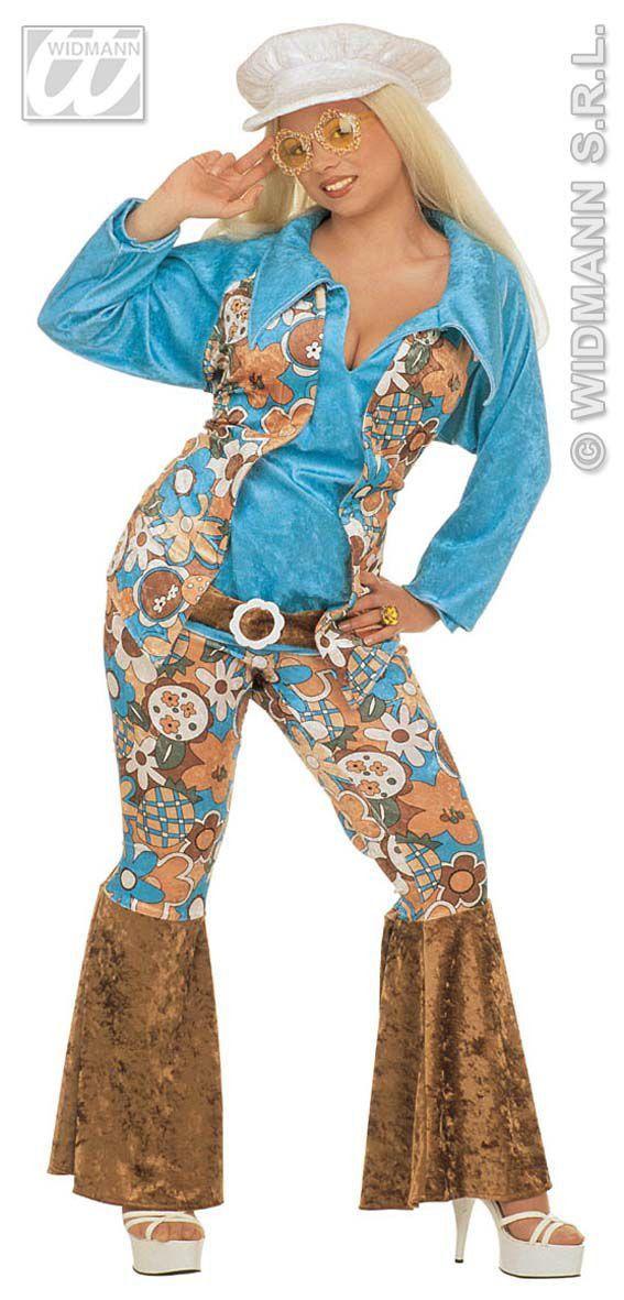 Amerikaanse Hippie Vrouw Luxe XL Kostuum