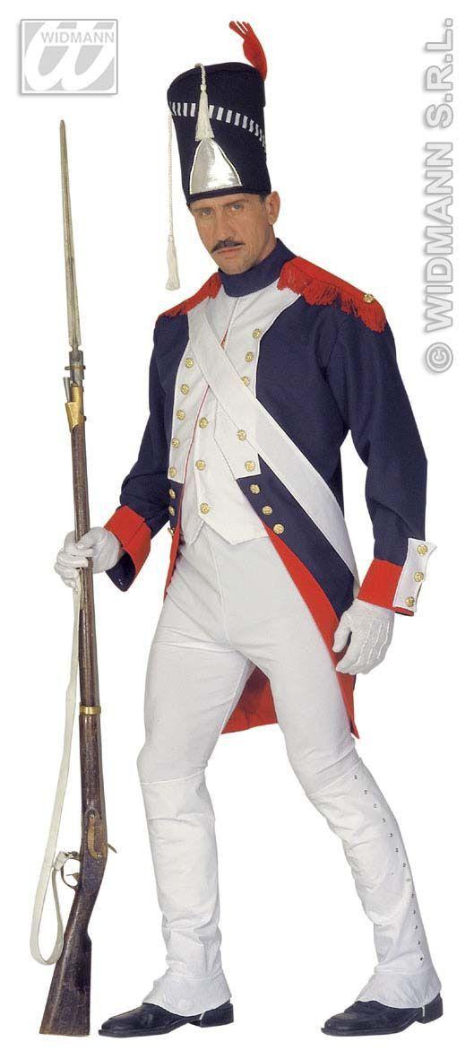 Napoleontische Grenadier Kostuum Man