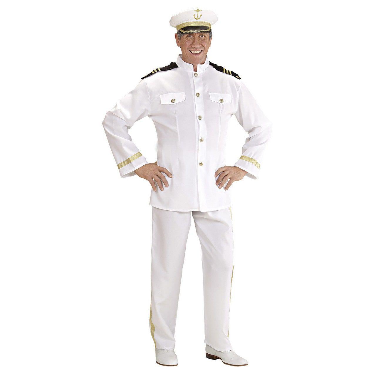Kapitein Love Boat Kostuum Man