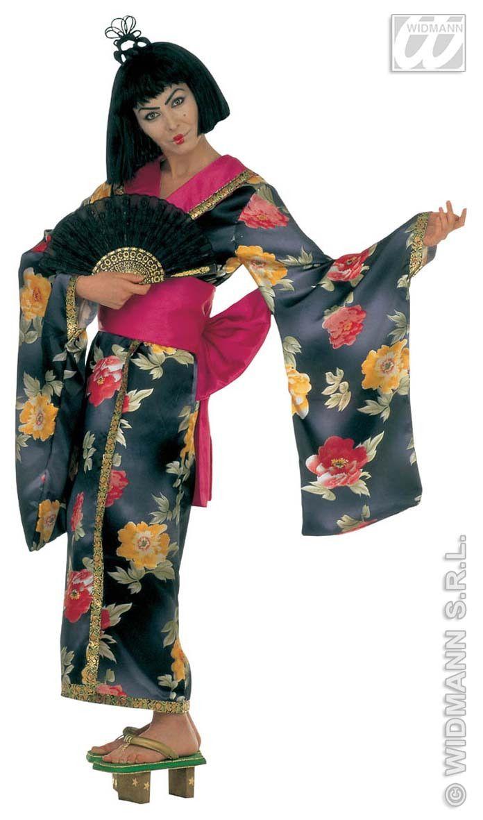 Kleurrijke Geisha Luxe Kostuum Vrouw