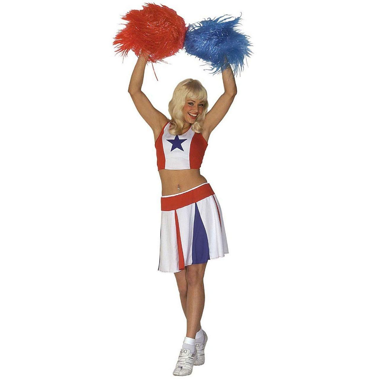 All American Cheerleader Kostuum Vrouw
