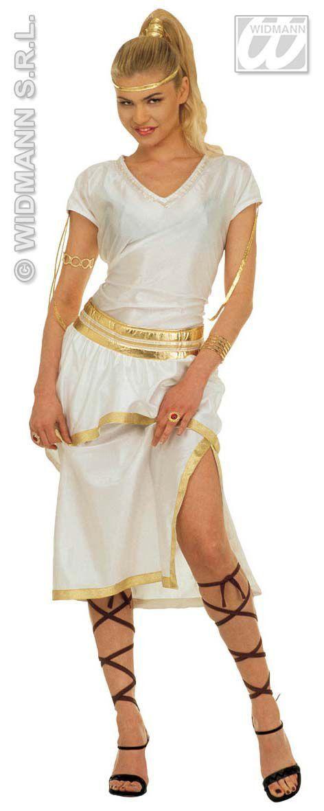Olympische Athena Kostuum Vrouw