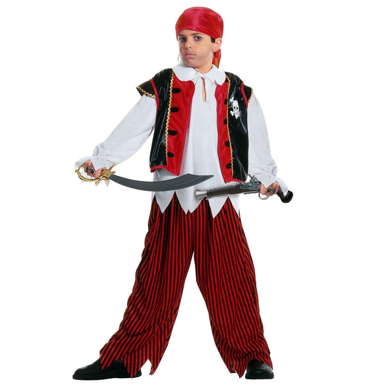 Piraat Schateiland Pistolero Kostuum Jongen