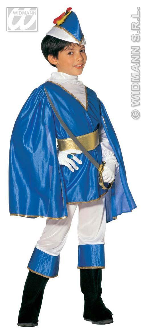 Koninklijke Blauwe Prins Kind Kostuum Jongen