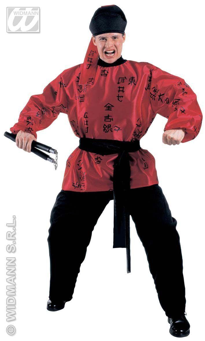 Fighting Samurai Kostuum Man