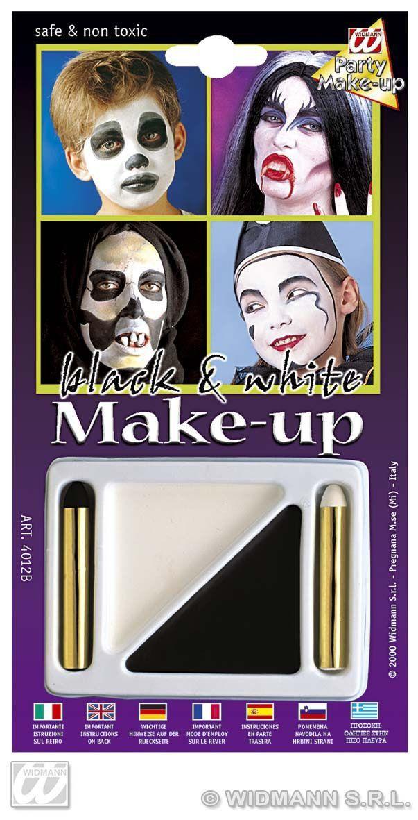 Make-Up Set Zwart En Wit