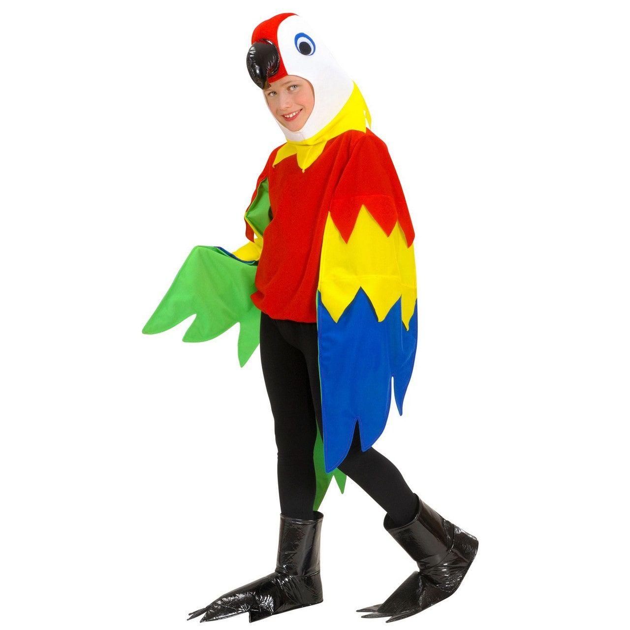 Vrolijke Papegaai Kind Kostuum Jongen