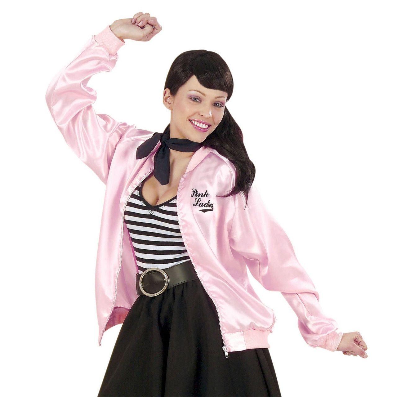 Dames Jasje Satijn Pink Lady Vrouw