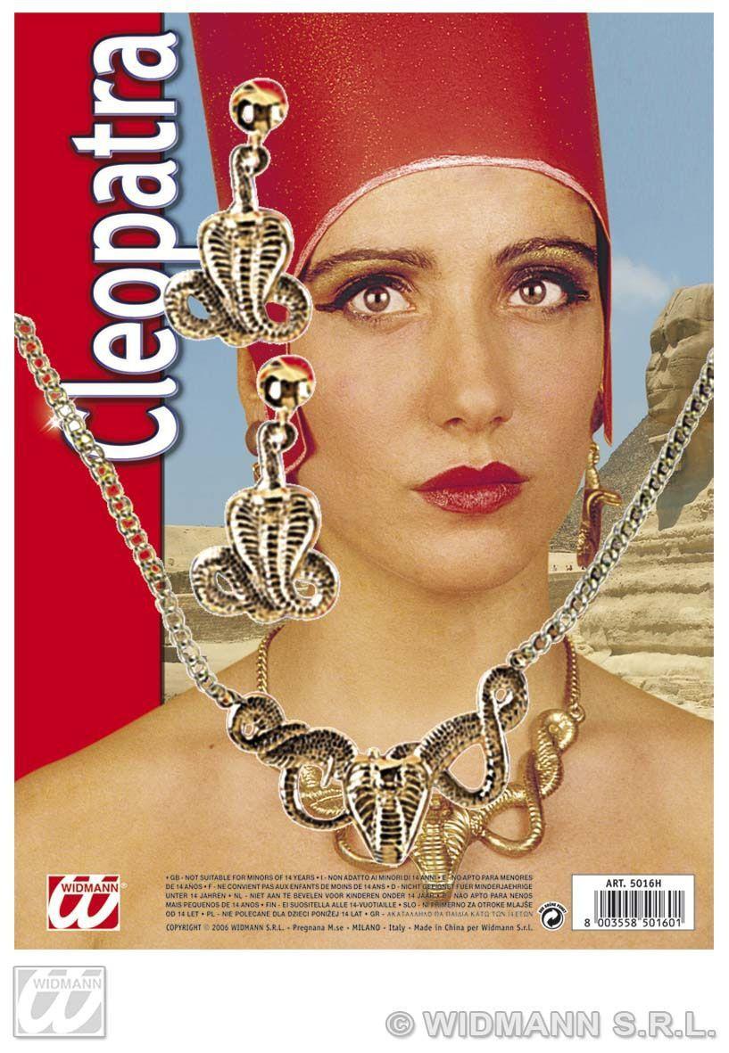 Cleopatra Set (Ketting Met Oorbellen)