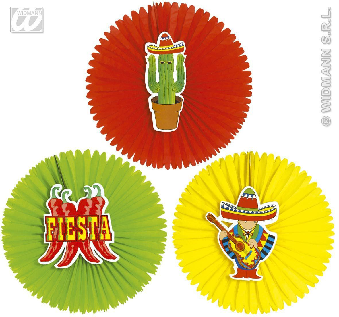 Papieren Decoratie Mexico