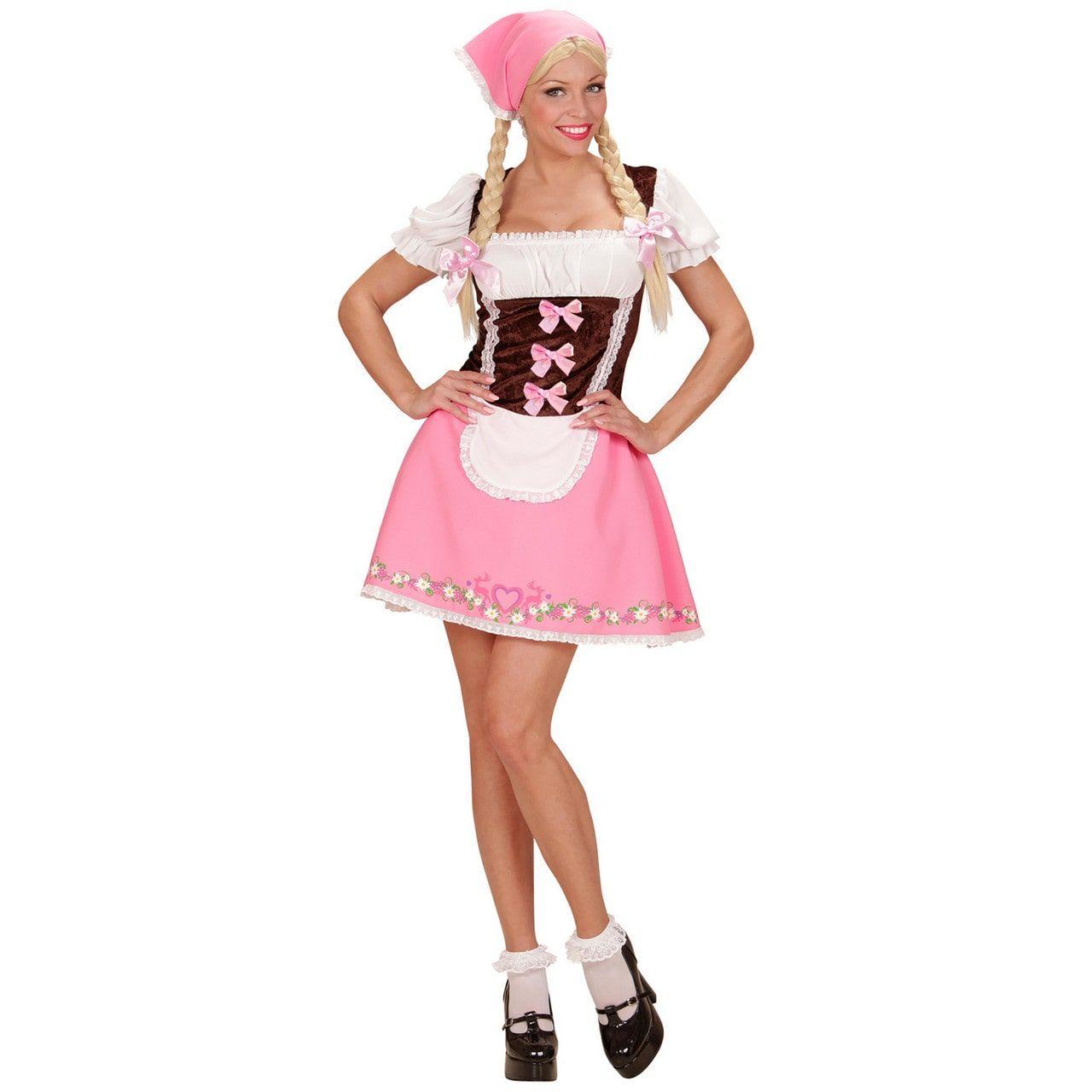 Ms Skoll Beiers Meisje Vrouw Kostuum
