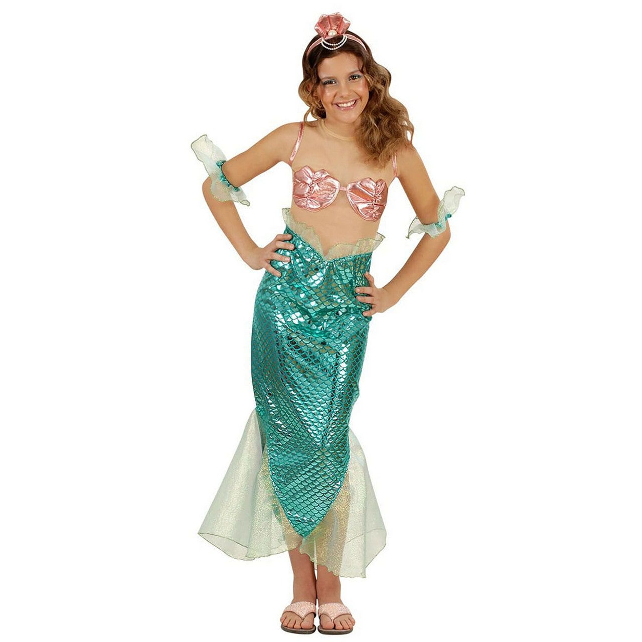 Toverachtige Zeemeermin, Meisje Kostuum