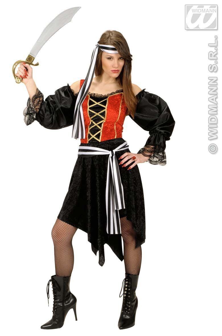 Boekanier Rum Lady Kostuum Vrouw