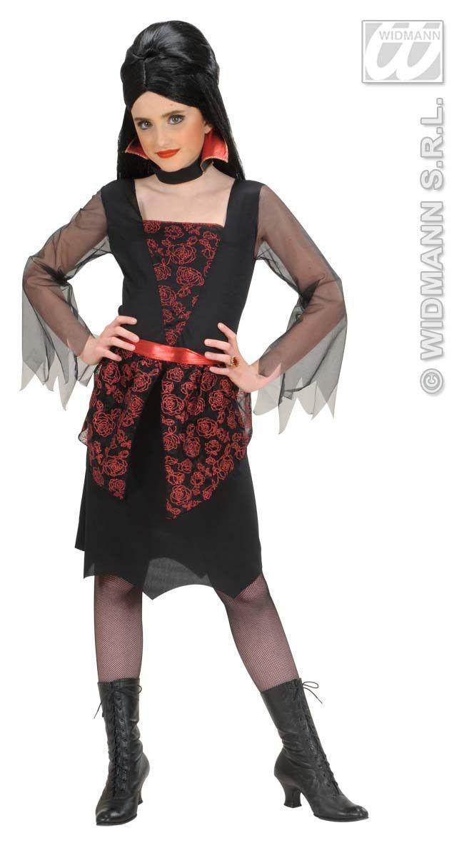 Vampierster Meisje Priscilla Kostuum