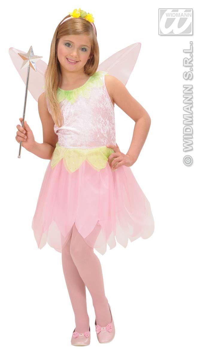 Dancing Pixie Roze Bloem Kostuum Meisje