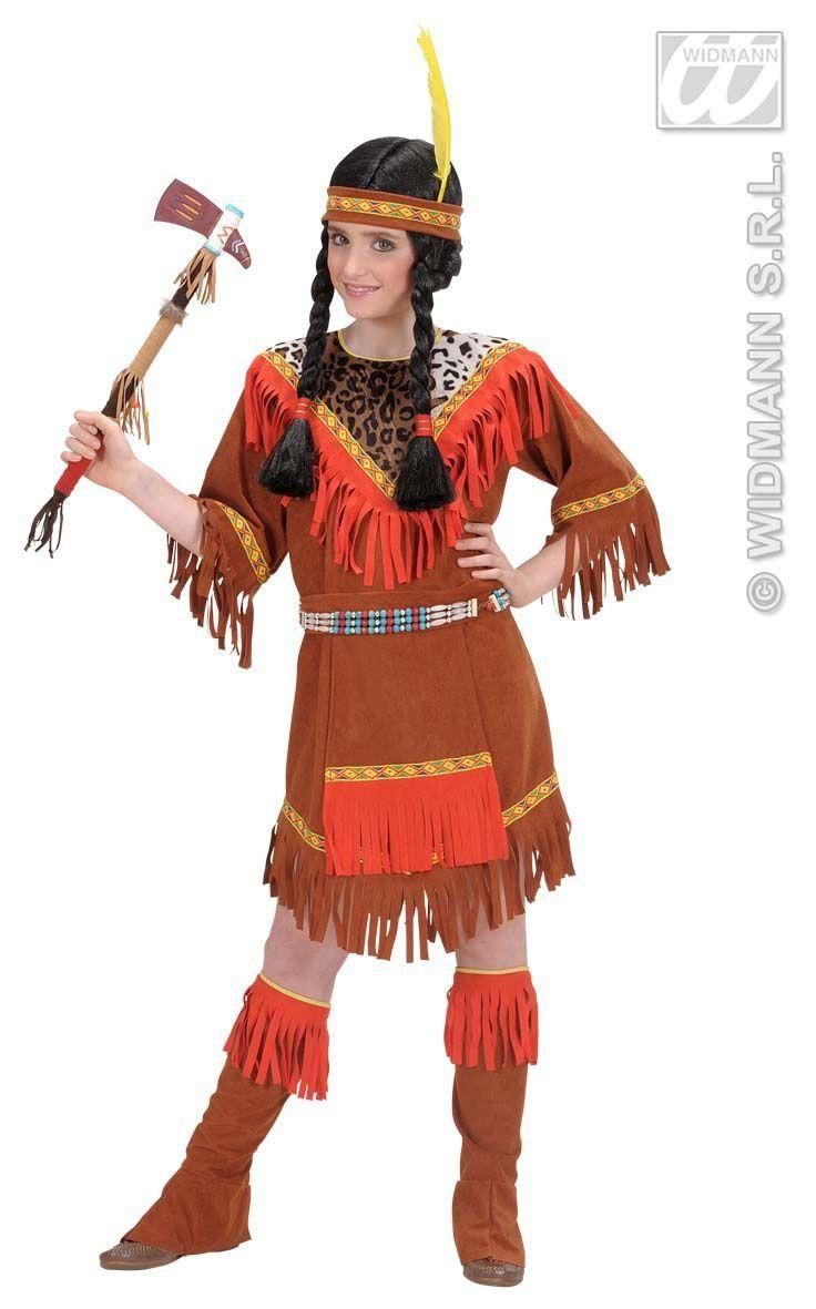 Savannah Indiaans Meisje Kostuum