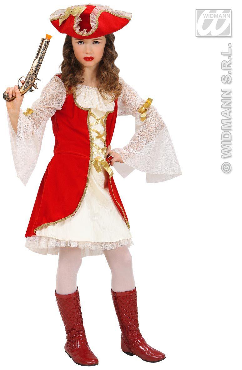 Officieel Piratenkapitein Meisje Kostuum