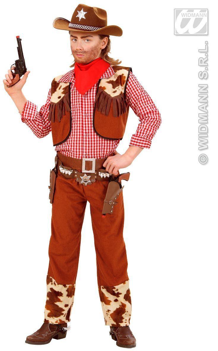 Rawhide Cowboy Bruin Kind Kostuum Jongen