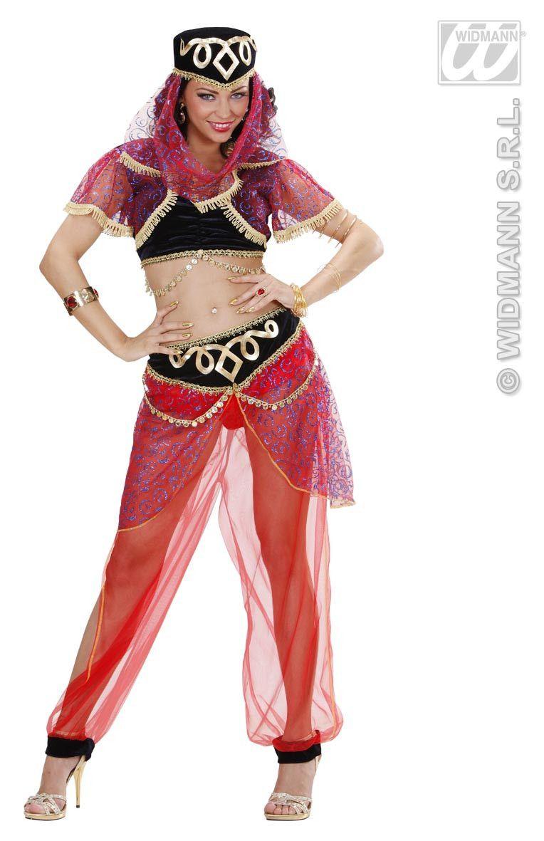 Moderne Harem Danseres Luxe Kostuum Vrouw